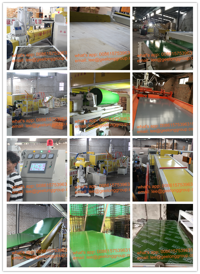 PP Film Faced Plywood Board Making Machine, Plastic Coating Plywood